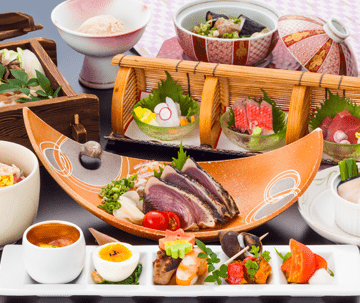 全国旅館100選連続入賞の料理